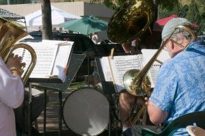 baritone and trombone Red Lodge copyright