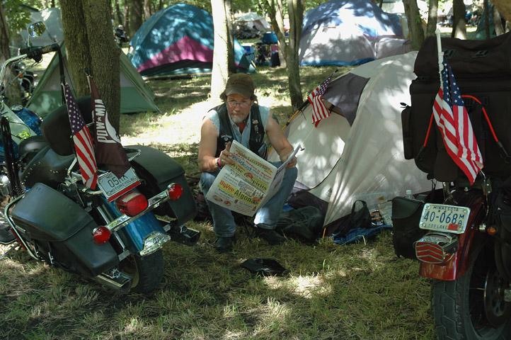 Motorcycle Camping
