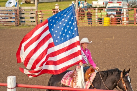AM Flag rodeo