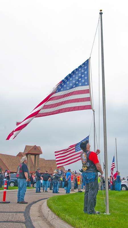 Raising the flag wtrmrk